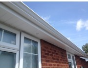 Record Month PVC roofline