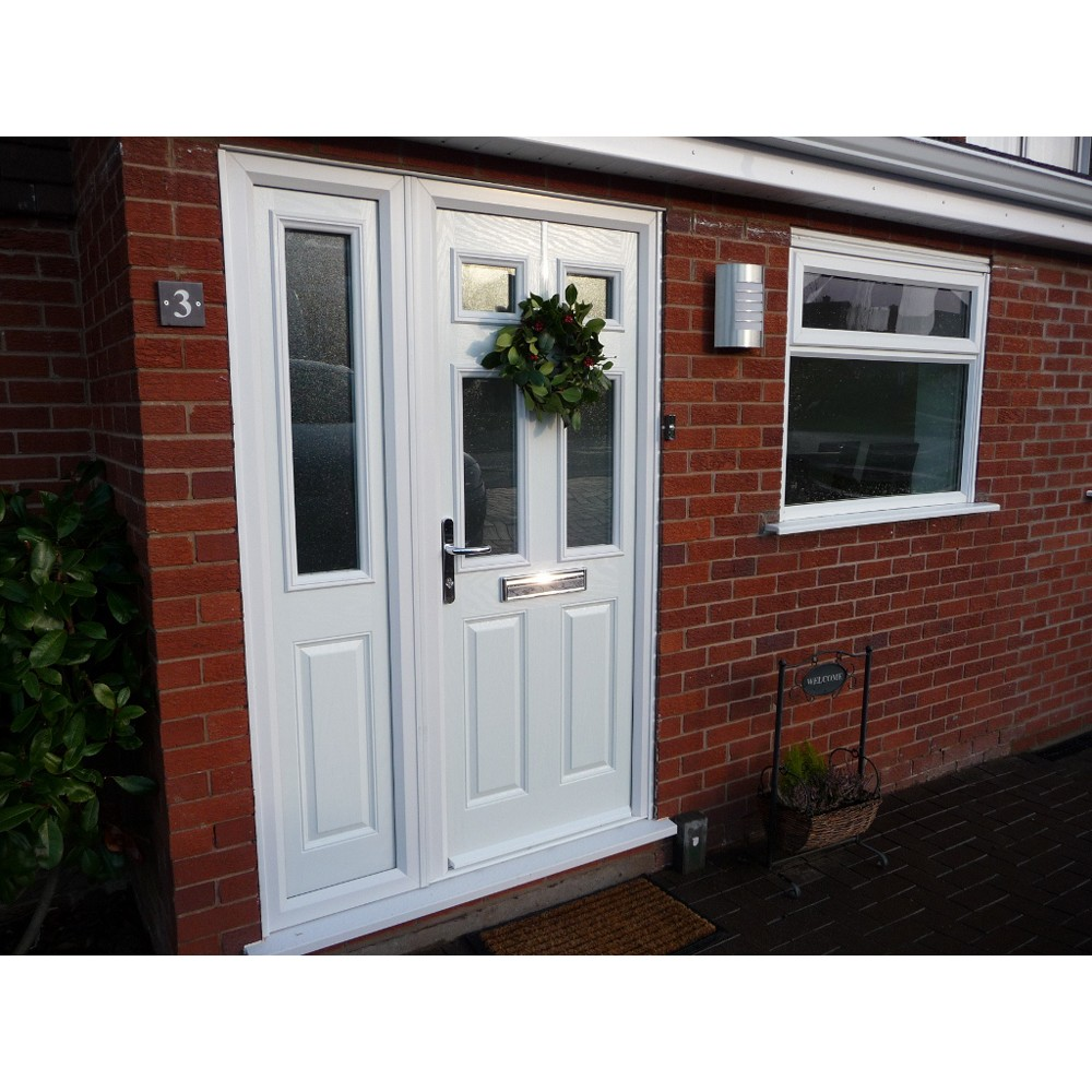 Composite doors shropshire shropshire cladding for Composite garage doors that look like wood