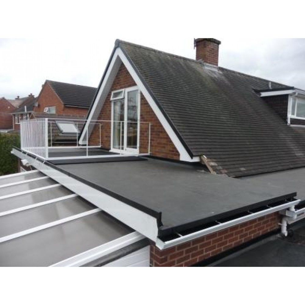 Firestone Rubber Roofing on Conservatory House