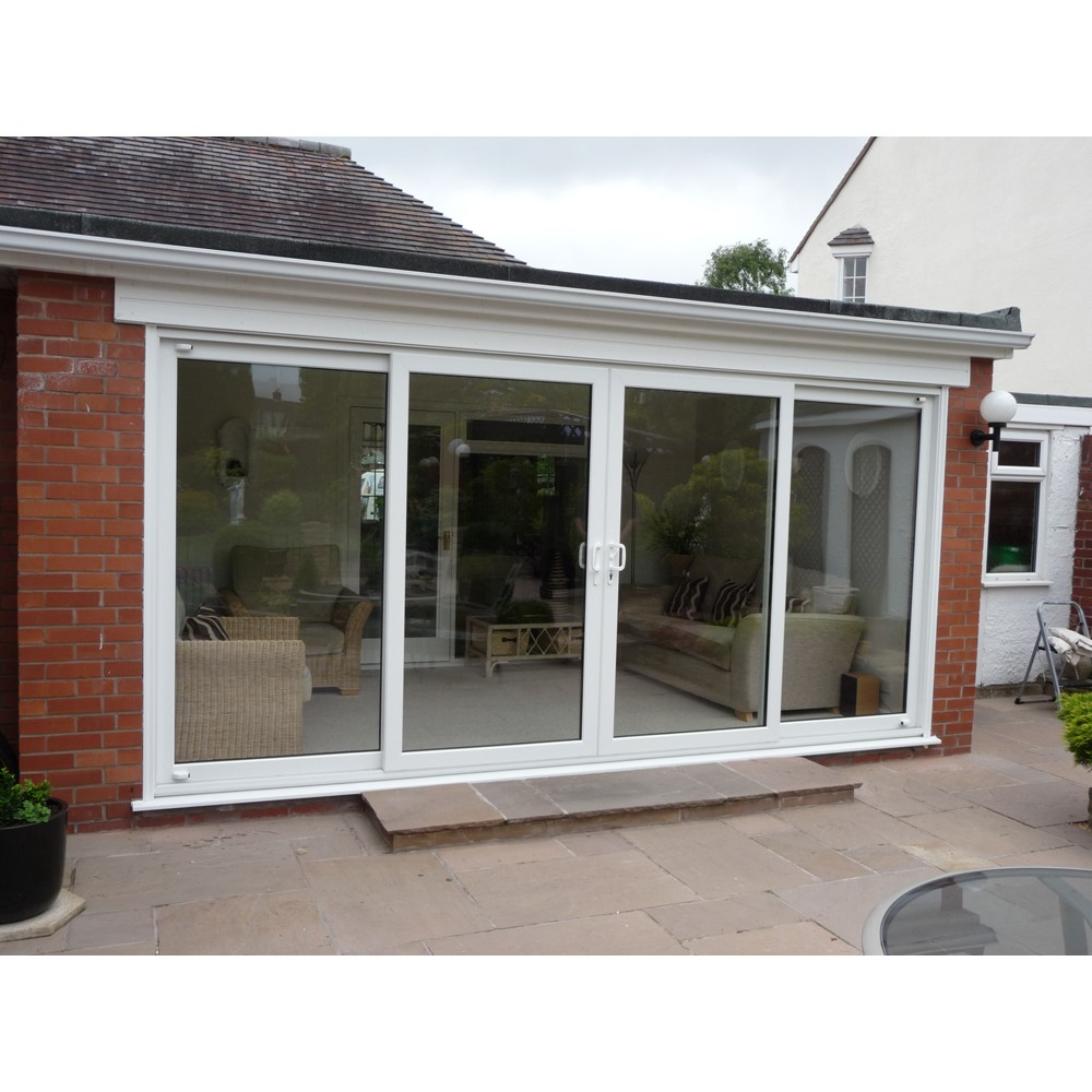Upvc patio doors shropshire shropshire cladding for Upvc balcony doors
